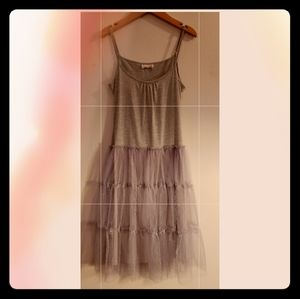 Beautiful A'reve tooled grey dress